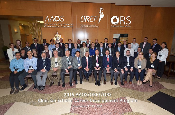 Dr Pascual has been selected as part of the Clinician Scientist Career Development by the American Academy of Orthopedic Surgeons. Rosemont, Chicago, Sept 19 2015