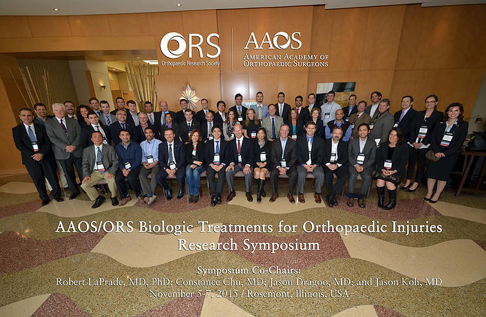 Dr Pascual selected by the AAOS (American Academy of Orthopedic Surgeons) to participate at the AAO/ORS Biologic Treatments for Orthopedics Injuries Research Symposium.